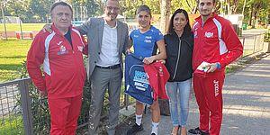 Ricci e Della Dora festeggiano i giovani campioni Marra e Lucarelli