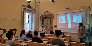 """Il """"welcome day"""" del corso di """"Sistemi Industriali dell'Informazione"""" dell'Univpm a palazzo Gradari"""
