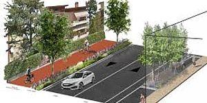 Ricci e Belloni: «Avanti con la riqualificazione dell'asse via Fratti-via Giolitti: da circonvallazione a viale alberato, con più ordine e sicurezza»