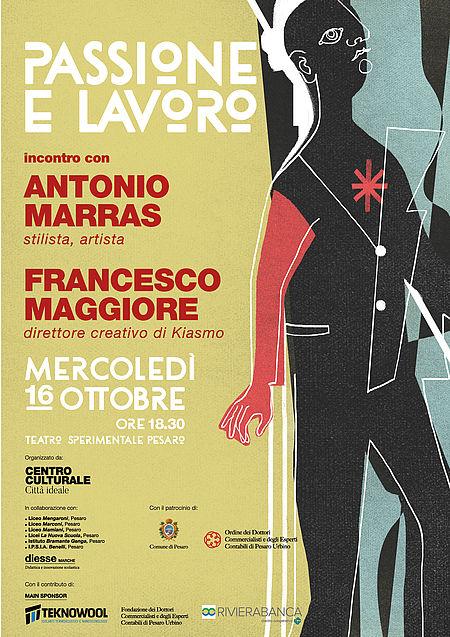 Passione e lavoro Antonio Marras a Pesaro
