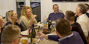 «Un sindaco in famiglia», Ricci a casa De Martis