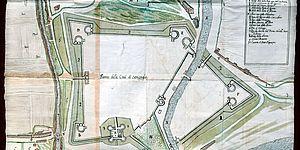La città di Senigallia nel secolo XVIII Legazione apostolica carta