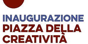 invito inaugurazione piazza creatività