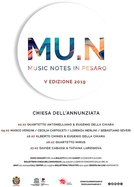 MU.N - Music Notes in Pesaro_2019
