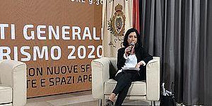 Assessore Mila Della Dora parla agli Stati Generali del turismo 2020