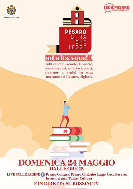 PESARO CITTA' CHE LEGGE AD ALTA VOCE!