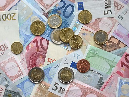 Banconote monete euro