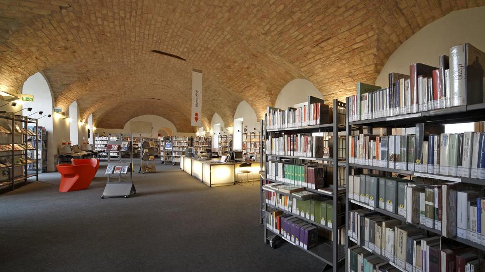 Sala 2 della Biblioteca San Giovanni