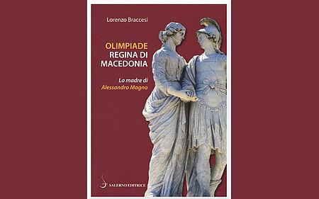 Immagine tratta dalla copertina del libro raffigurante statua di WILHELM BEYER, Alessandro e Olimpiade (sec. XVIII)