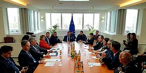 il comune di pesaro incontra il presidente dell'auroparlamento tajani