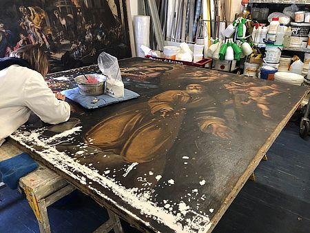 Coop alleanza 3.0 con opera tua restaura opere d'arte locali: per le marche, e' rifiorito un capolavoro di pesaro