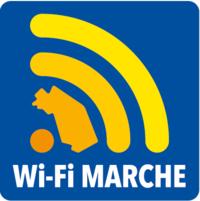 Logo progetto Wi-Fi Marche, Spiaggia Connessa