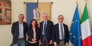 Pesaro Studi, Ricci e Frenquellucci dopo vertice con Stocchi: «Incontro molto positivo con università di Urbino»