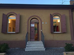 entrata centro Gabicce Mare via Del Porto 2