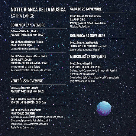 Notte Bianca Extralarge