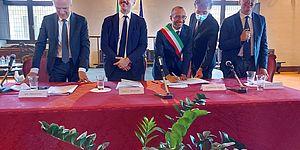 Mauri Lapolla Ceriscioli Ricci in prefettura