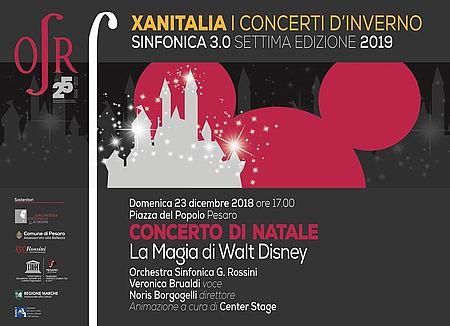 Concerto di Natale La Magia di Walt Disney_locandina