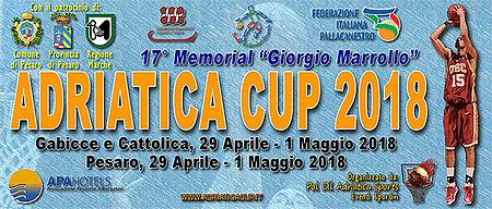 Adriatica Cup Basket 2018