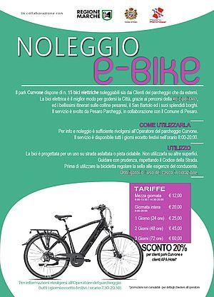E Bike a Pesaro locandina