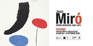 Joan Miró opere grafiche 1948 -1971 manifesto