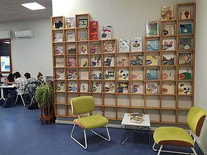 Biblioteca Louis Braille sala studio
