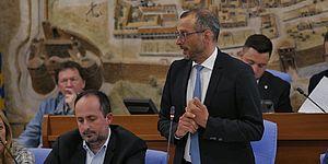 Matteo Ricci al primo consiglio comunale: presentazione delle linee programmatiche
