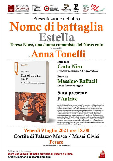 Nome di battaglia Estella. Teresa Noce