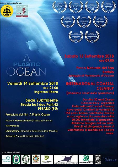 A Plastic Ocean locandina