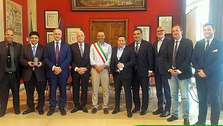 incontro con delegazione egiziana e Filippetti