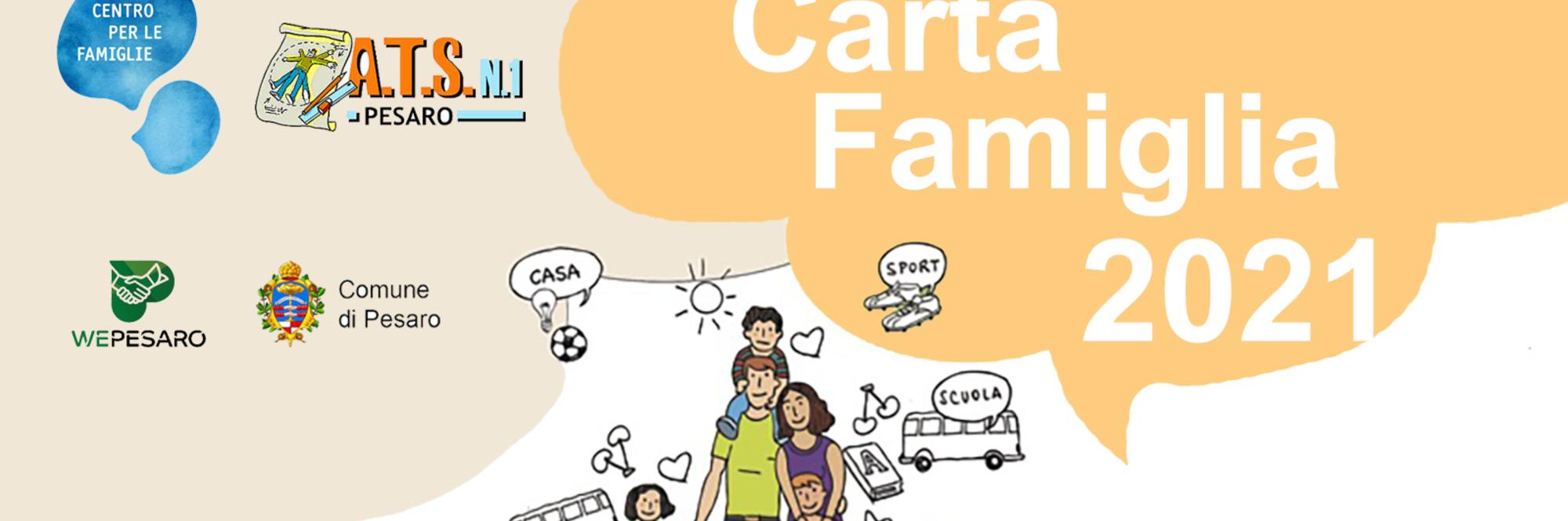Volantino carta famiglia