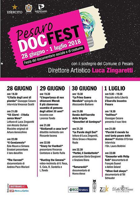 Programma Doc Festival