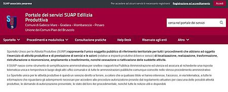 Nuovo portale SUAP