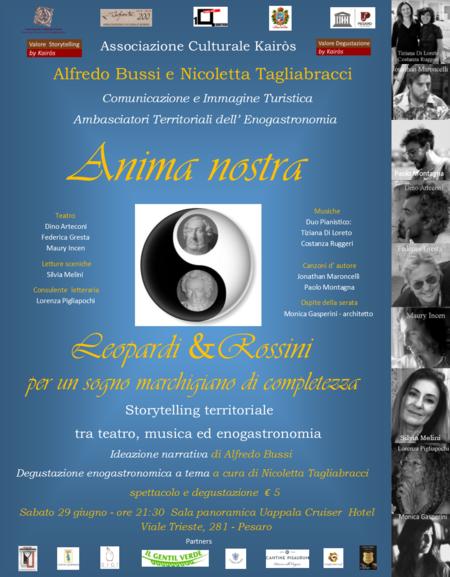Anima nostra: Leopardi & Rossini_locandina