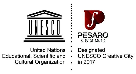Unesco creative cities Pesaro_logo