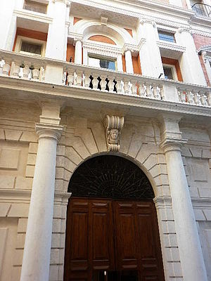 Ingresso Palazzo Mazzolari Mosca
