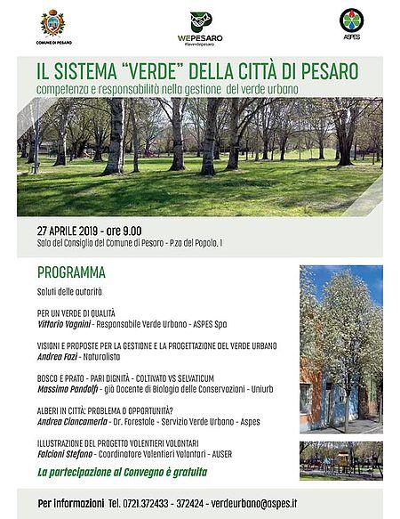 Il sistema verde della città di Pesaro