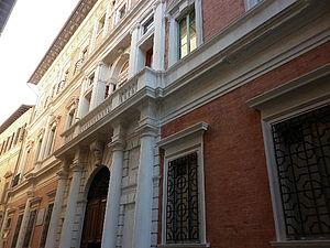 Facciata Palazzo Mazzolari Mosca