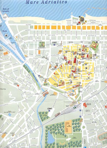 Cartina Geografica Provincia Di Pesaro Urbino.Comune Di Pesaro Come Arrivare