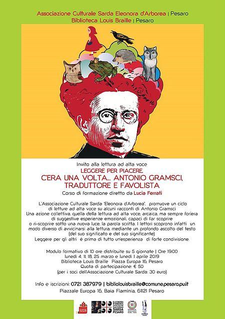 C'era una volta … Antonio Gramsci, traduttore e fa_locandina