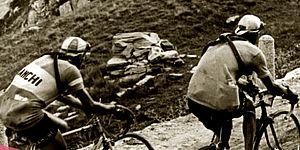 Il Giro d'Italia a Pesaro: le biciclette da corsa _locandina