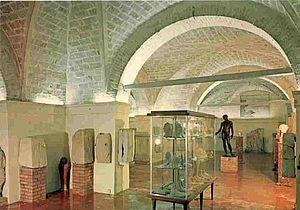 Interno Museo Archeologico Oliveriano