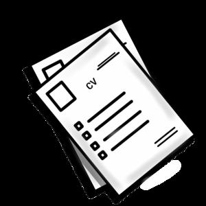 disegno stilizzato curriculum vitAE