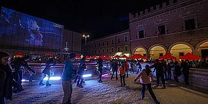 piazza del Popolo a Natale
