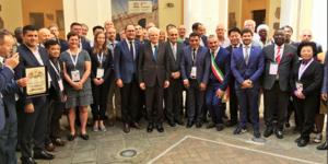 Ricci con Mattarella al forum dei sindaci Unesco