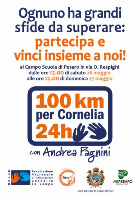 Locandina 100 km per Cornelia
