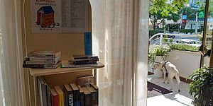 La Biblioteca fuori di sé...in hotel