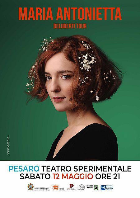 Manifesto concerto Maria Antonietta