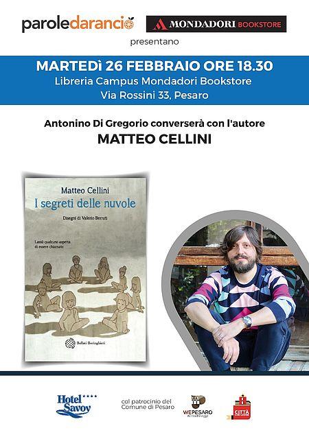 Presentazione del libro di Matteo Cellini_locandina