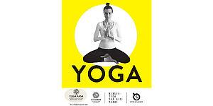 particolare della locandina raffigurante donna posizione yoga