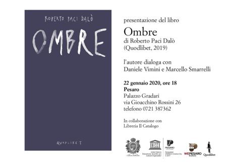 Ombre (Quodlibet, 2019)